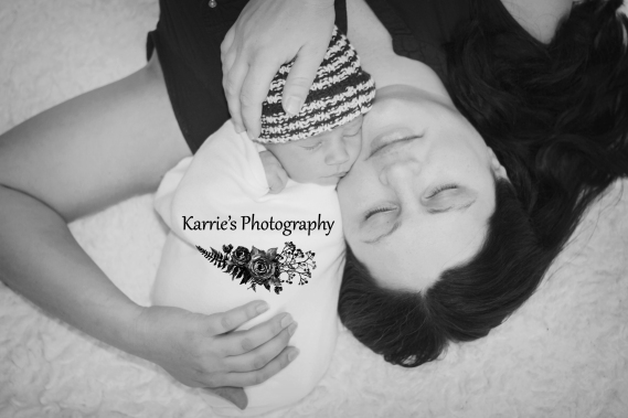 Karrie's Photography Newborn Baby Boy Session