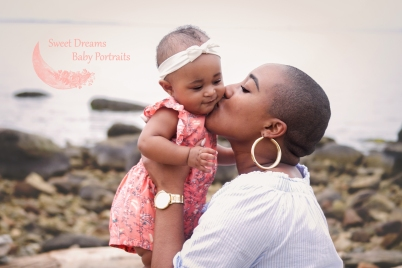 Baby Girl Sitter Portrait Session