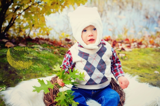 Fall Baby Portrait Session
